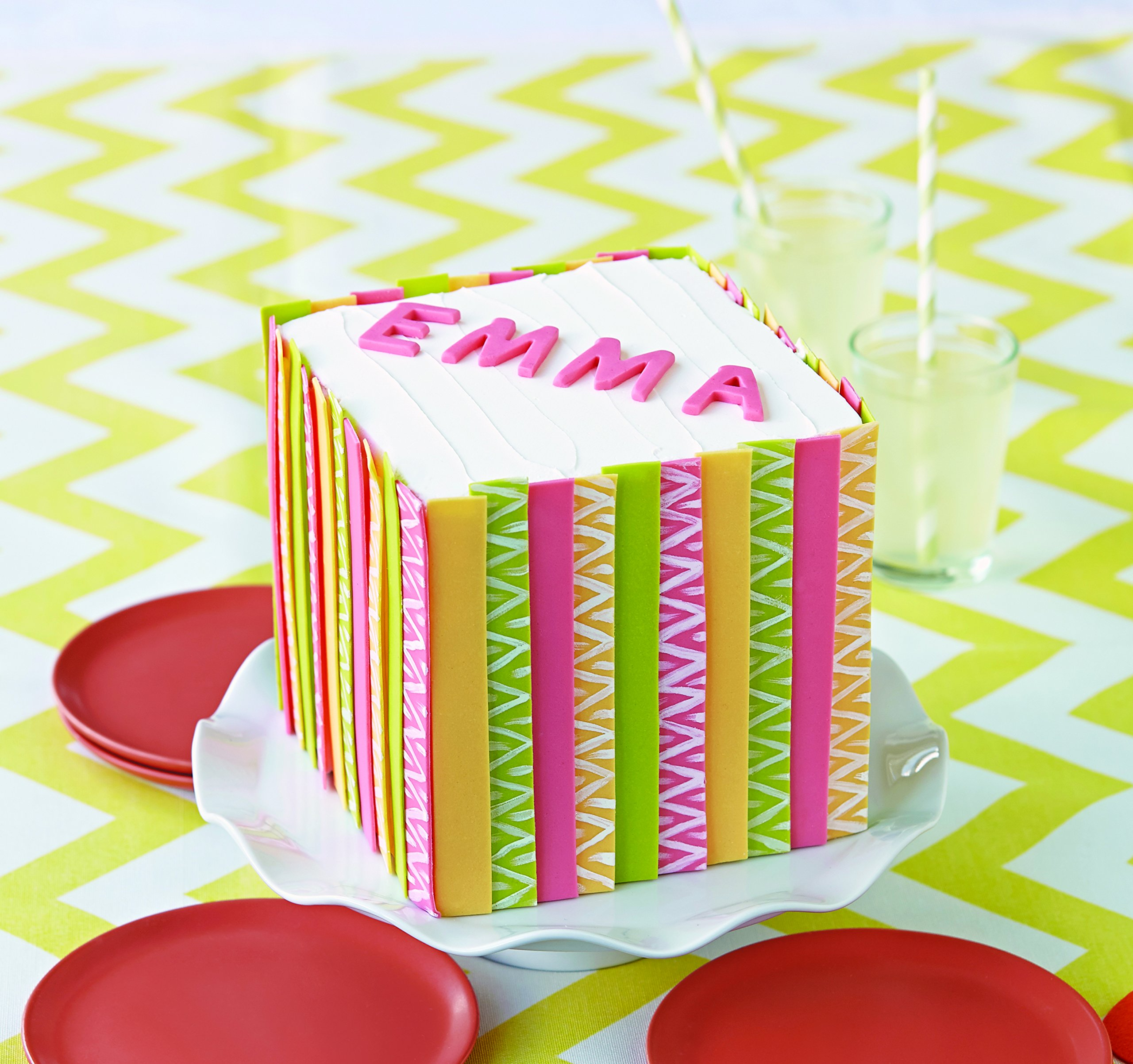 Wilton Silicone Letters and Numbers Fondant and Gum Paste Molds, 4-Piece - Cake Decorating Supplies by Wilton (Image #9)