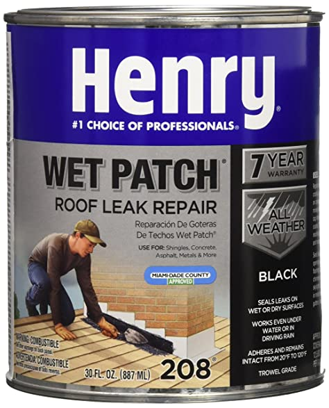 HENRY HE208030 Qt Roof Cement