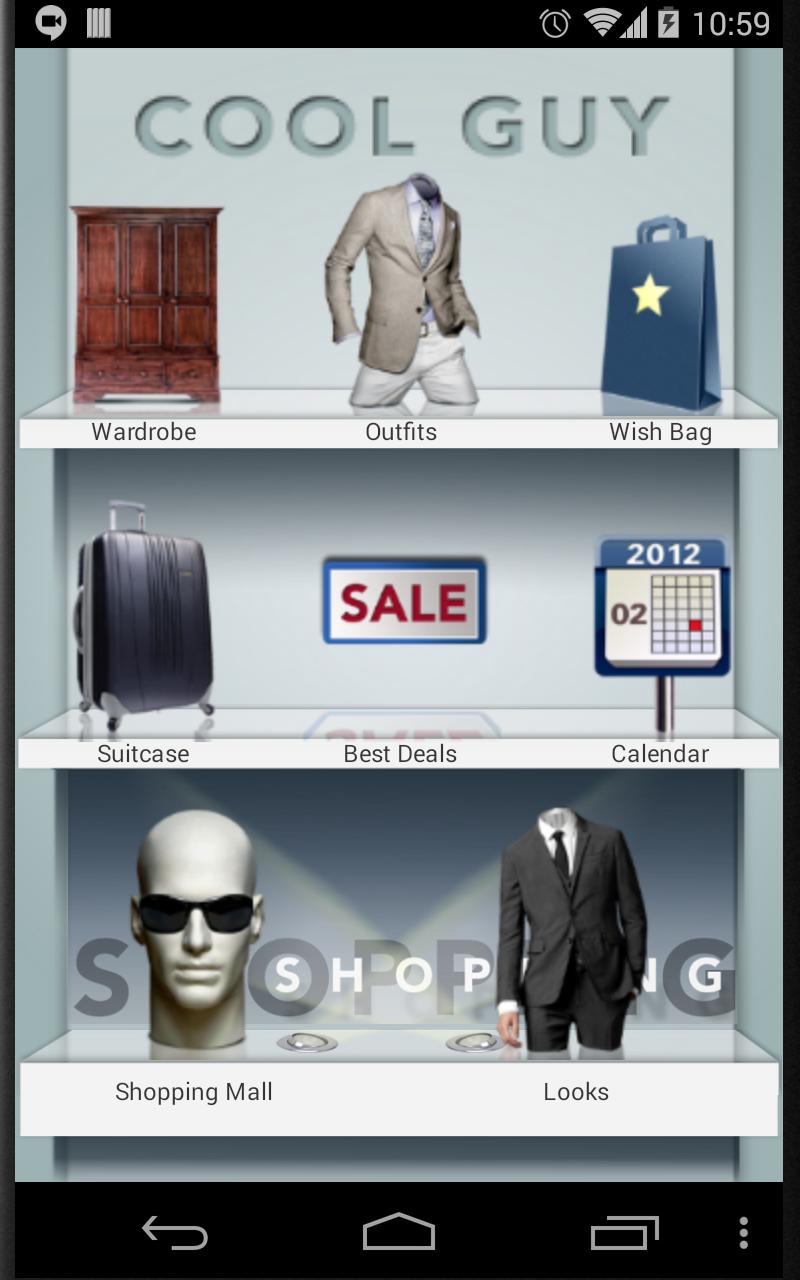 Buy shopping app for men