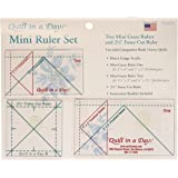 Quilt In A Day Mini Ruler Set, 3 Pieces