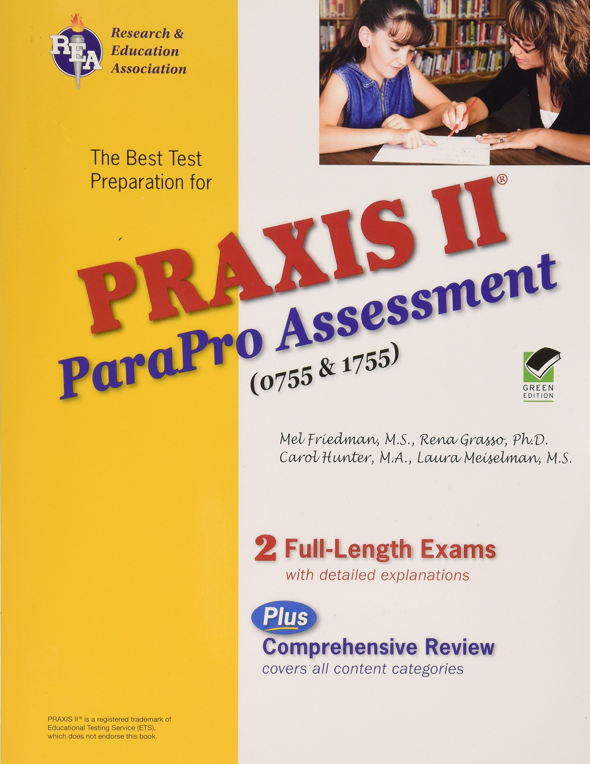 Praxis Ii Parapro Assessment 0755 And 1755 Rena Grasso Phd Mel