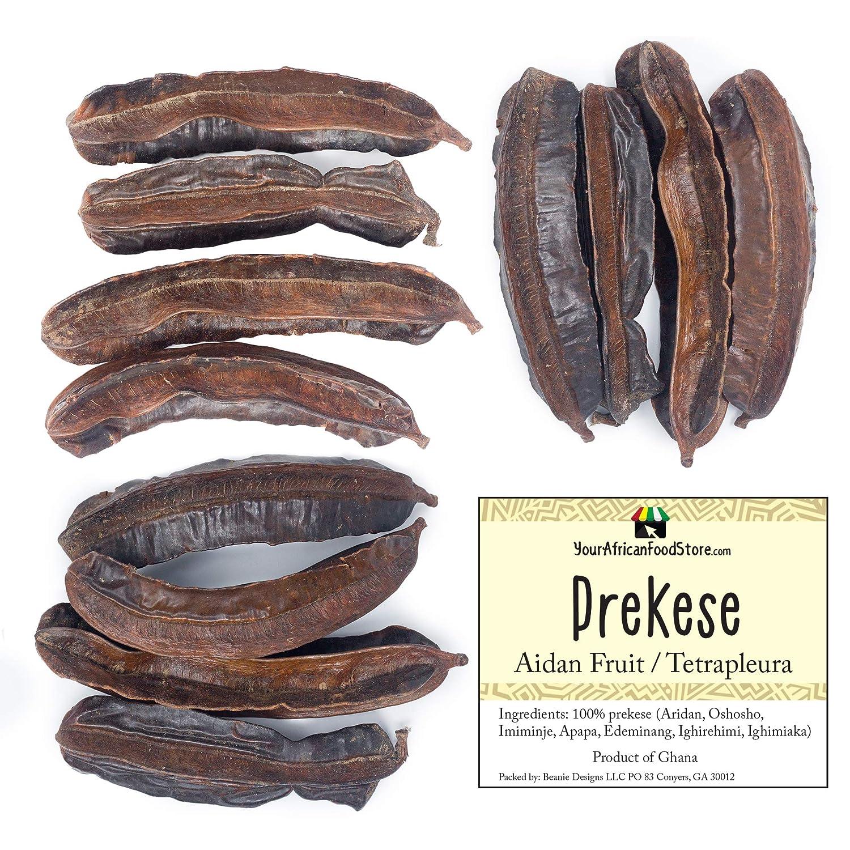 PREKESE, Aidan Fruit, Tetrapleura Tetraptera, Africa Herbs, African Tea, African food (12 pieces)
