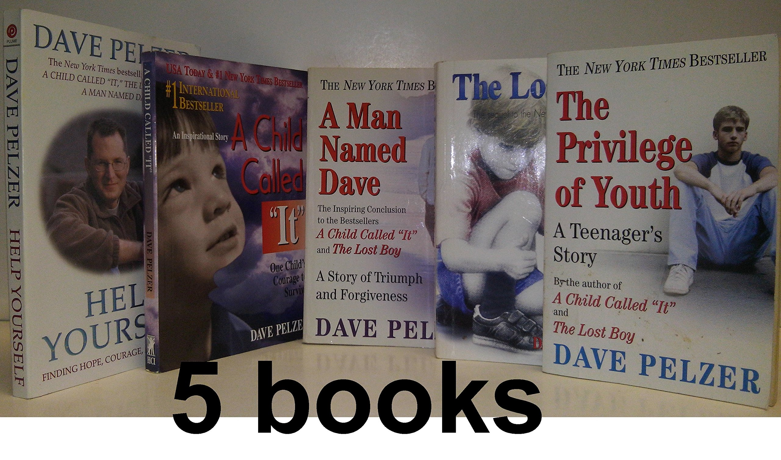 dave pelzer set book set a man d dave a child called it dave pelzer set 5 book set a man d dave a child called it the lost boy the privilege of youth help yourself dave pelzer com books