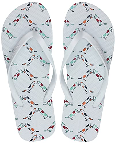 26438d25990 Finoceans Women s Sandals Flip Flops Beach Slipper Shoes Tong Retro Slim