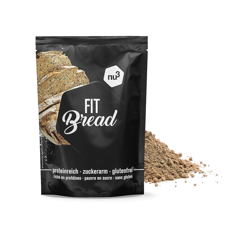 nu3 Fit Bread - 230 g de harina para pan integral con proteína ...