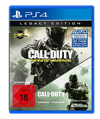 Call Of Duty Infinite Warfare Legacy Edition Playstation 4