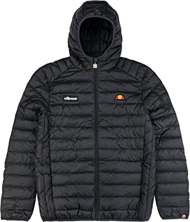 Ellesse Lombardy Bubble Jacket Black S