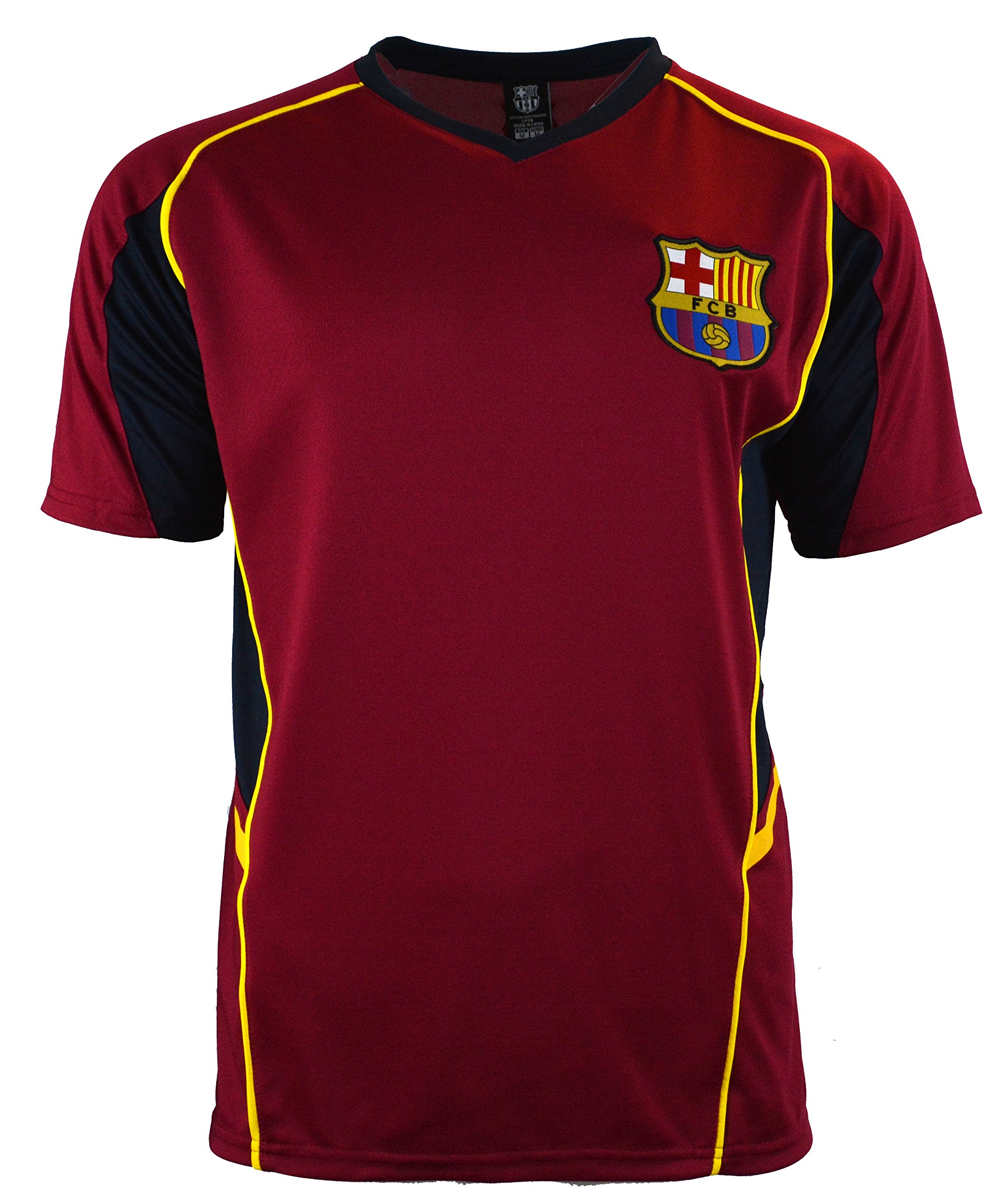 100% authentic c369f 85b7a Amazon.com: Fc Barcelona Adult Training Soccer Jersey ...