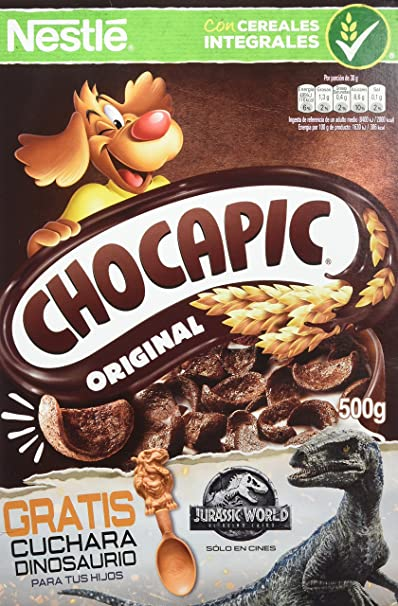 Chocapic - Cereales de Chocolate - 3 Paquetes de 500 g