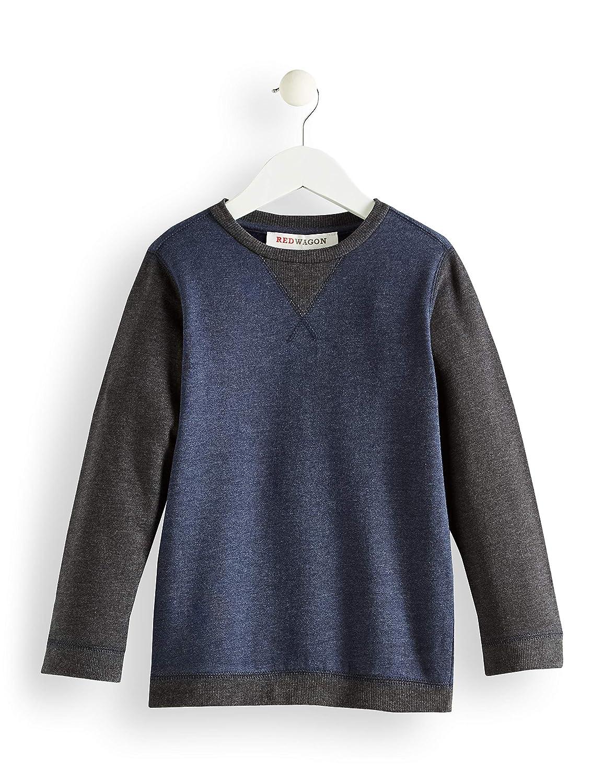 RED WAGON Jungen Sweatshirt mit Colour Block-Design BWSW1328