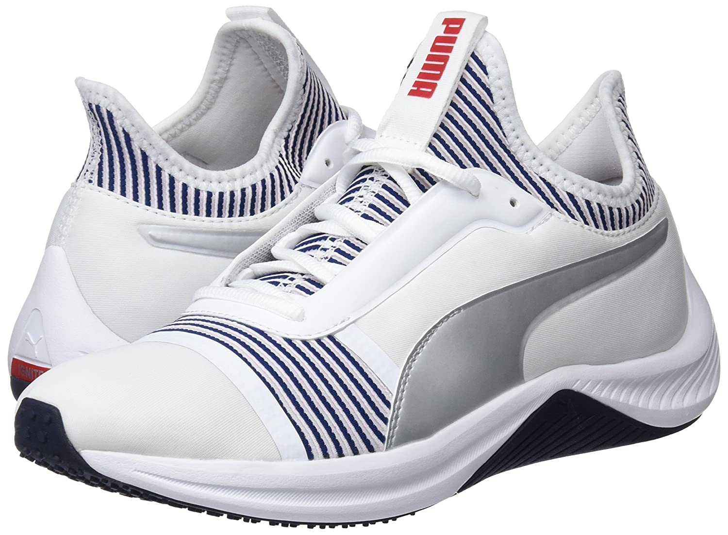 Amazon.com | Puma Amp XT WNS Women Trainers Sneaker Running Fitness White 191125 02 | Shoes