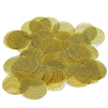 50 Beamer Premium Brass Pipe Screens 0 750