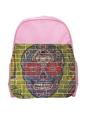 Amazon Com Sugar Skull Wall 13 X 10 Pink Girls Preschool