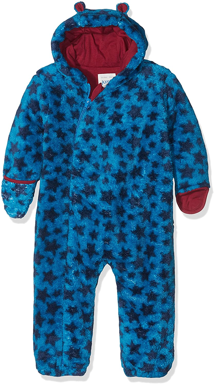 Kite Baby Boys' Star Fleece All-in-one Snowsuit BB953