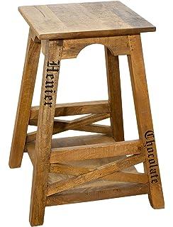 Amazon.de: Küchenbar mit 2 Stühlen, Holz