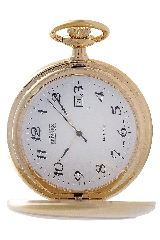 gb21133 – vergoldet – Full Hunter – Quarz-Uhrwerk – Arabisch Zifferblatt – weißes Zifferblatt