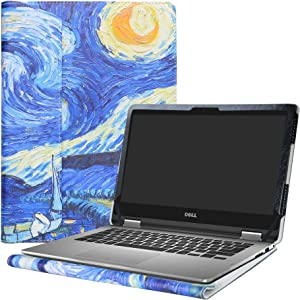 """Alapmk Protective Case Cover for 13.3"""" Dell Inspiron 13 2-in-1 7375 7378 7368 i7375 i7378 i7368 & Dell Latitude 13 3310 2-in-1 Series Laptop(Note:Not fit Dell Latitude 3310),Starry Night"""