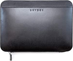 Brydge 11-inch Leather Organizer for 11-inch iPad Pro, 10.5-inch iPad Pro, iPad 6th Gen and 5th Gen, 9.7-inch iPad Pro, iPad Air 1 and 2