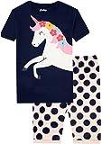 Amazon Price History for:Pajamas for Girls Horse Spot Girls Pajamas Short Cotton Child Summer Kids PJS Sleepwear Set