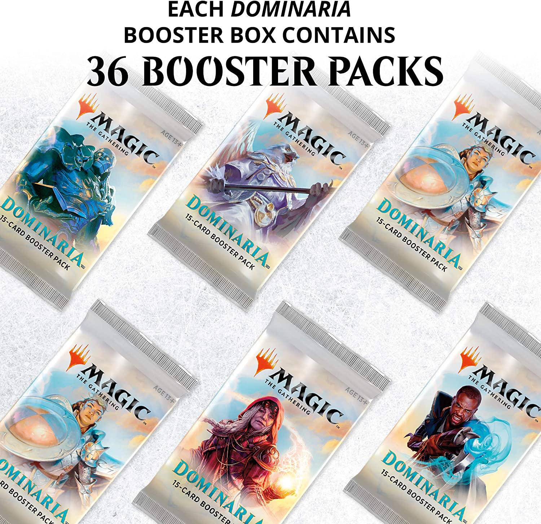Magic The Gathering- Dominaria Display, Multicolor, 1 Box (36 x Booster Packs) (C34890000): Amazon.es: Juguetes y juegos
