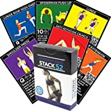Stack 52 Resistance Band Exercise Cards . Exercise Band Workout Playing Card Game. Video Instructions Included. Home Fitness Training Programme For Elastic Rubber Tubes And Stretch Band Sets.