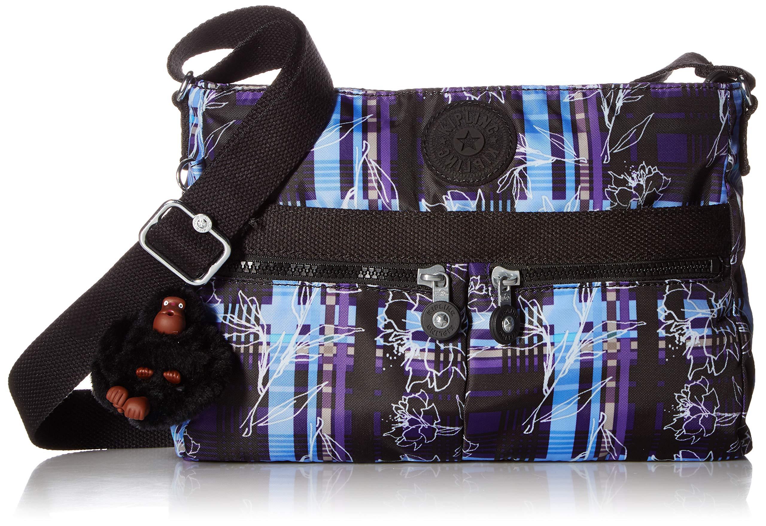 Kipling Women's Angie Crossbody Bag, Darling dashes