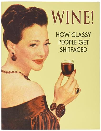 Amazon J0830 Jumbo Funny Birthday Card Wine With Envelope