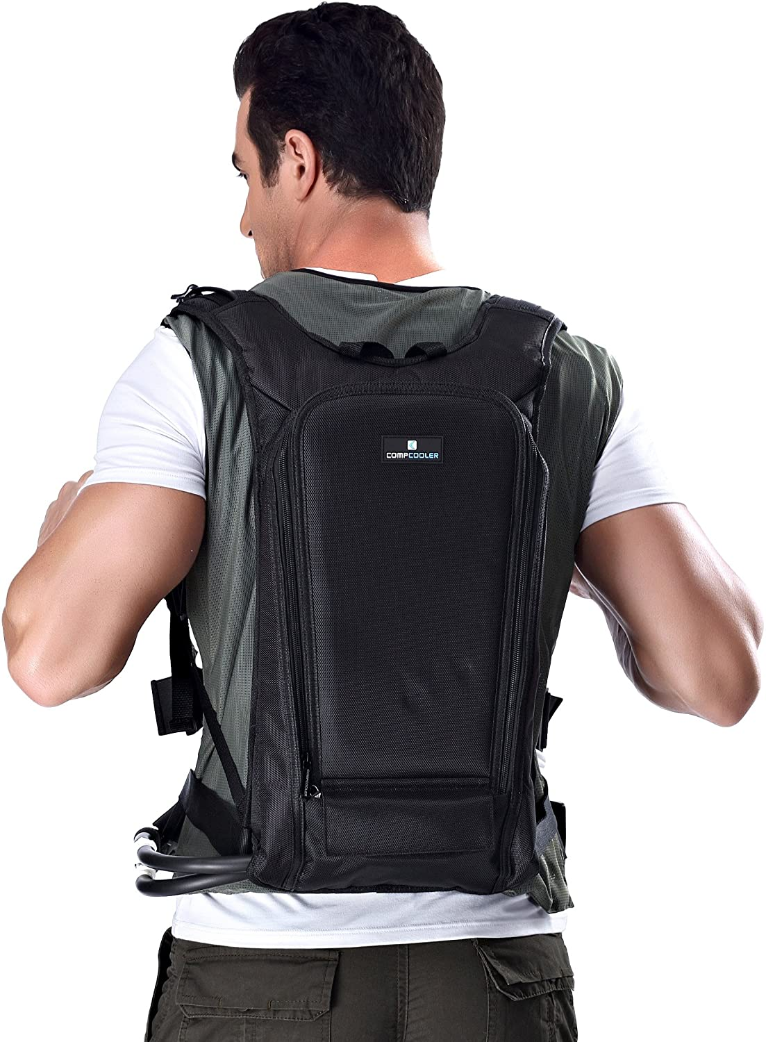 Personal Microclimate Body Cooling Vest with backpack detachable Bladder for easy to reload ice