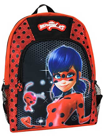 Amazon.com  Miraculous Kids Ladybug Backpack  Clothing 43dbf1d10d26e