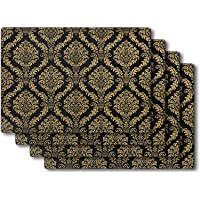 SUBEKYU Placemats Set of 4,Silicone Place Mats Indoor Dining. Highly Efficient Heat Resistant /Thermal Insulation/Anti…