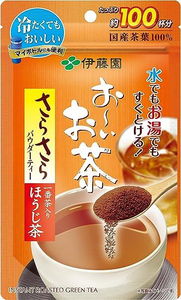 伊藤園おーいお茶さらさらほうじ茶80g(チャック付き袋タイプ)