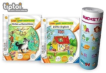 RAVENSBURGER tiptoi® Buch Mein Lern-Spiel-Abentuer Merken und Konzentrieren