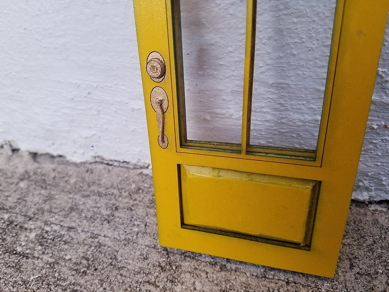 Alexandria Door for Dollhouse or Collectible