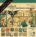 Graphic 45Deluxe Edition Collector Papier 30,5cm x 12-inch-steampunk monde