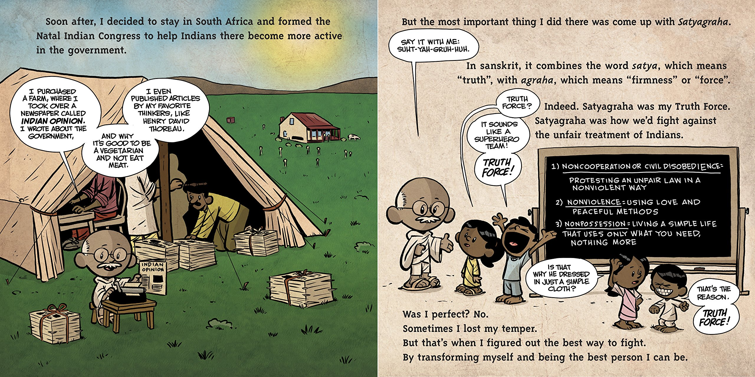 I am Gandhi (Ordinary People Change the World) by Dial Books (Image #2)