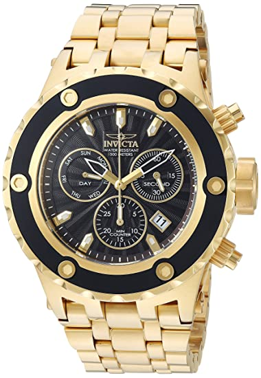 Amazon.com  Invicta Men s Subaqua Quartz Watch with Stainless-Steel ... 09bdabcf7cc