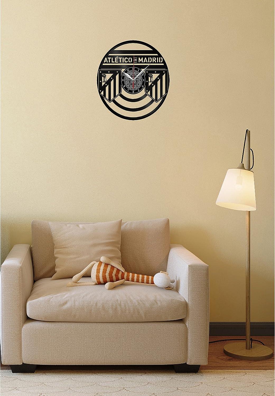 Vinyl Clock Atlético Madrid - Reloj de Pared, Diseño de ...