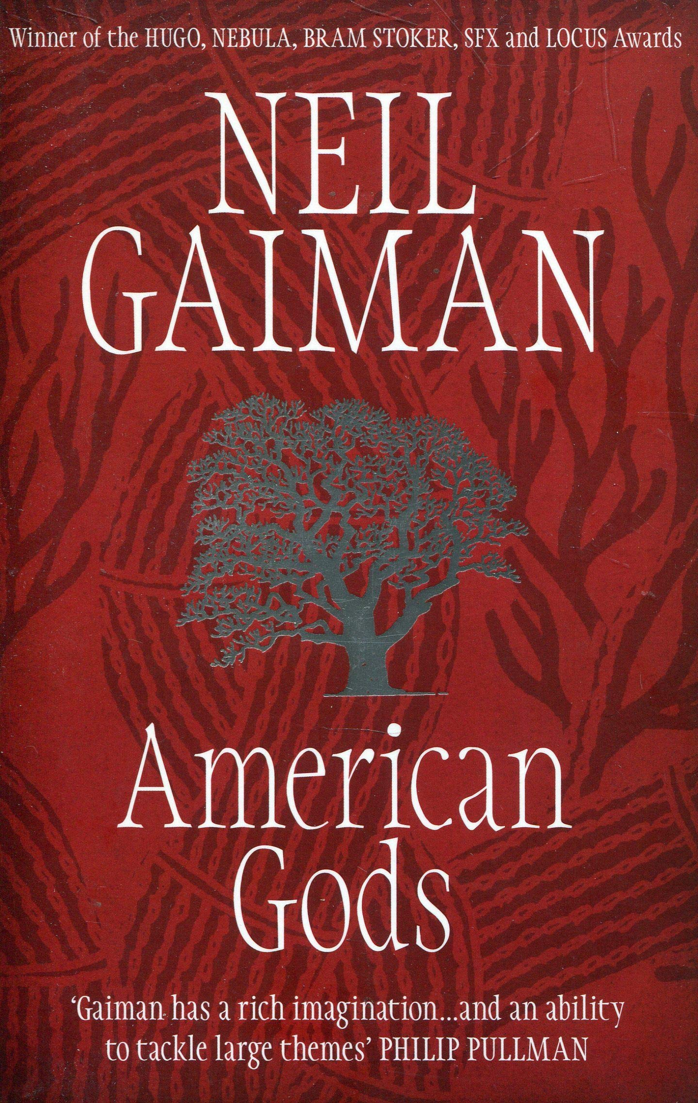 Image result for american gods book cover
