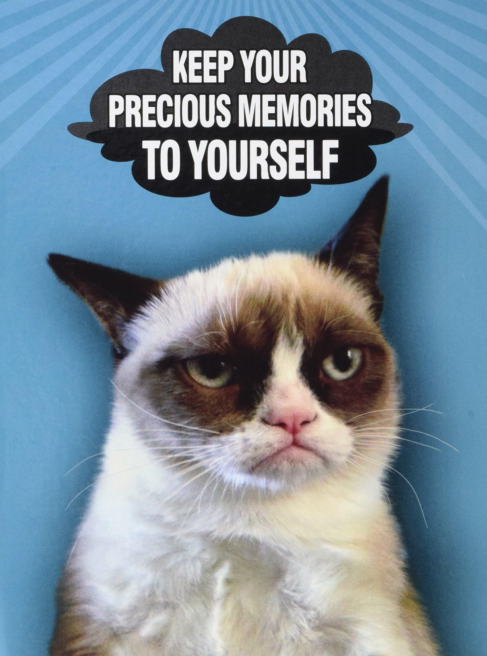 Ultra PRO 58207-R Grumpy Cat Mini Photo Album, 4 by 6-Inch, Memories