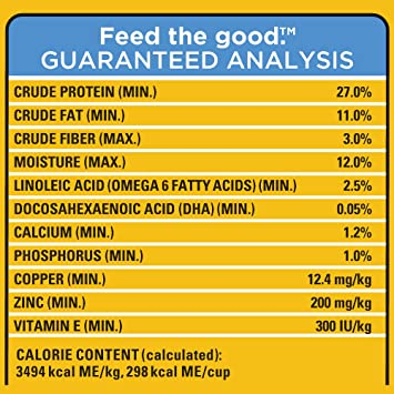 pedigree puppy food chart: Amazon com pedigree puppy growth and protection chicken