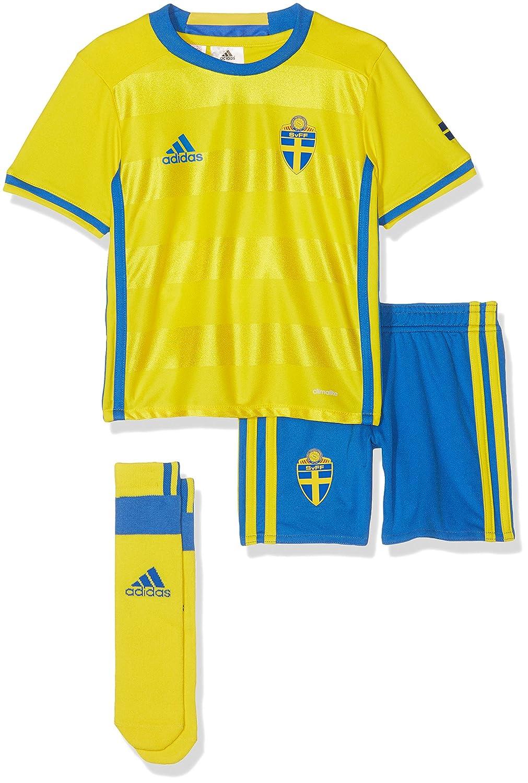 adidas - Balón de fútbol Infantil hogar/de Equipo Suecia Mini ...