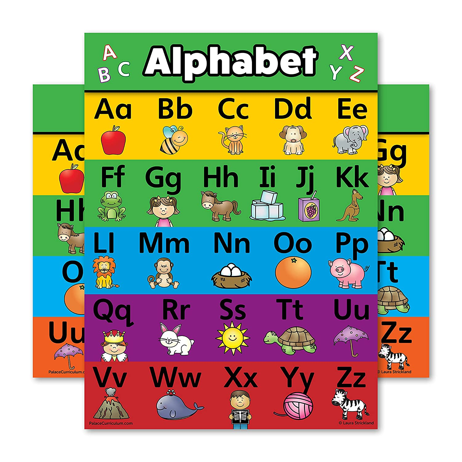 Educational Charts & Posters | Amazon.com | Office & School Supplies ...