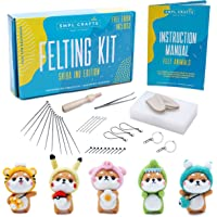 Papel y cuerdas de Fieltro Gran Kit de costura volando amigos de fieltro y tela Kit Nuevo