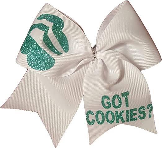 Peanut Butter Cookie Hair Clip Hair Barrette Girls Cookie Cheer Bow Bows Got Cookies Coconut Cookie Hair Bow,