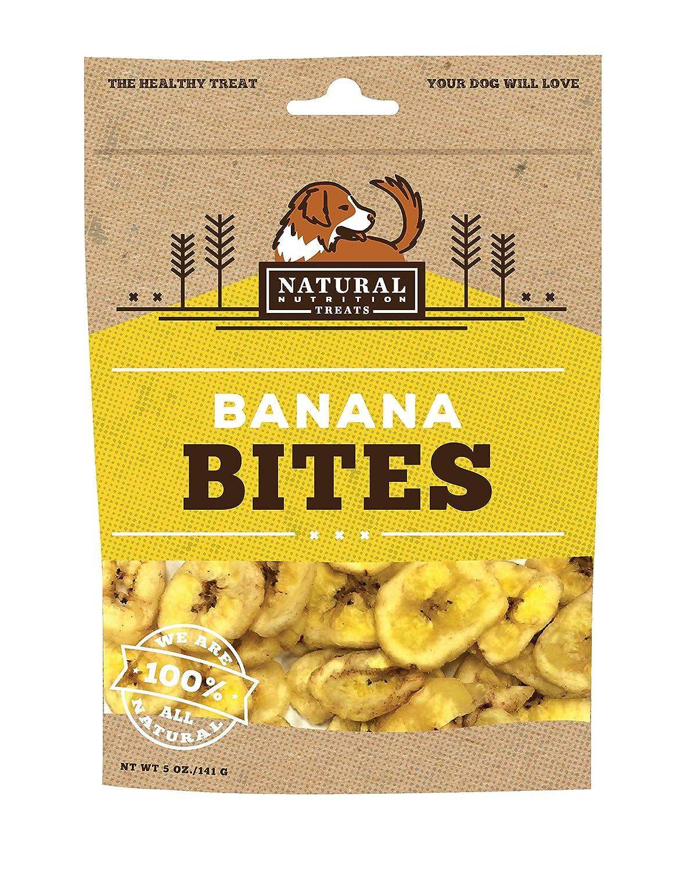 Natural Nutrition Treats Banana Bites, 10 Ounce