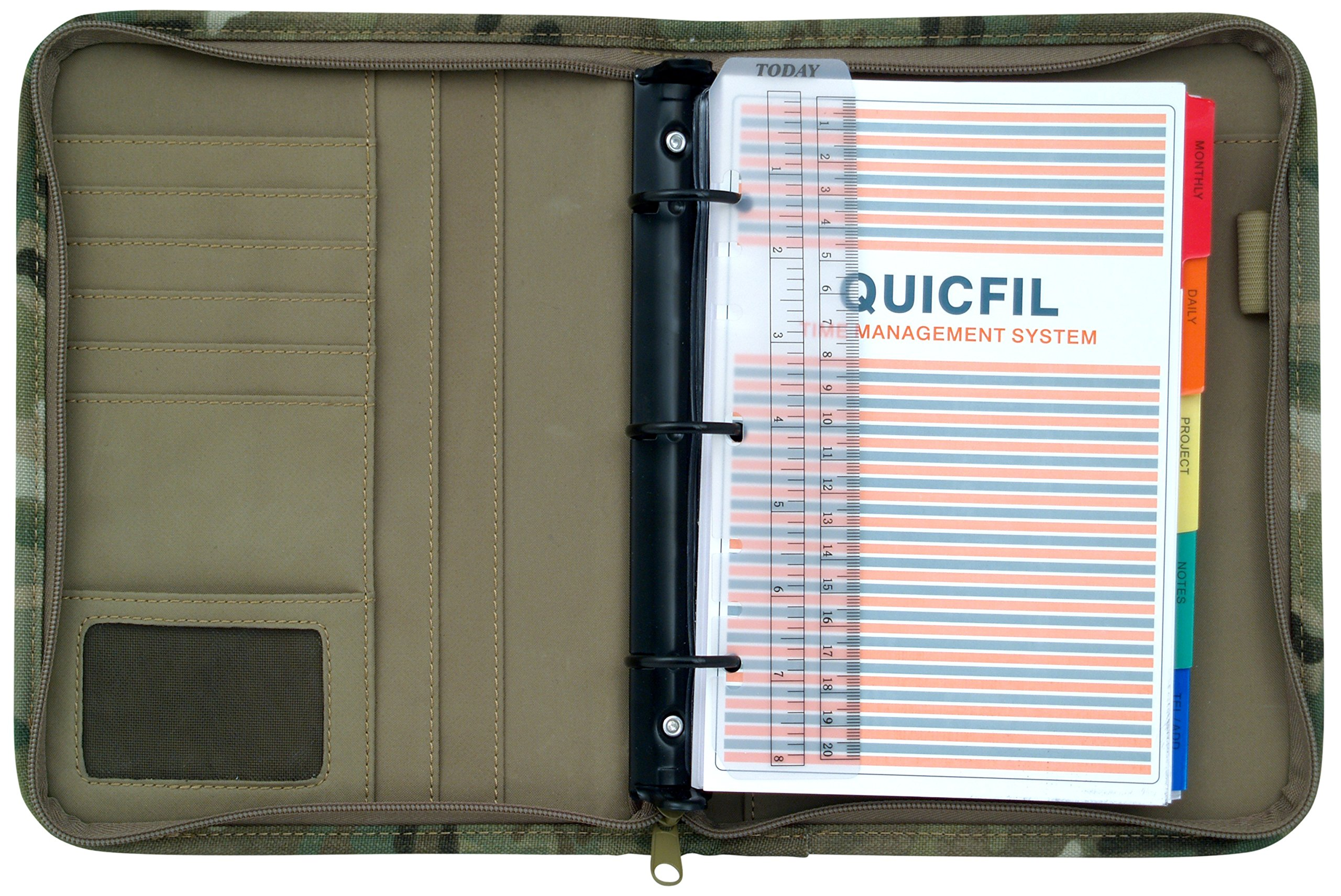 Mercury Tactical Gear Large Multicam Padfolio Ring Binder (MRC8615-MUL) by Mercury Tactical Gear