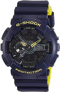 347172d676207 £95.88 Amazon Prime. Casio Men s G Shock GA110LN-2A Blue Rubber Quartz  Sport Watch