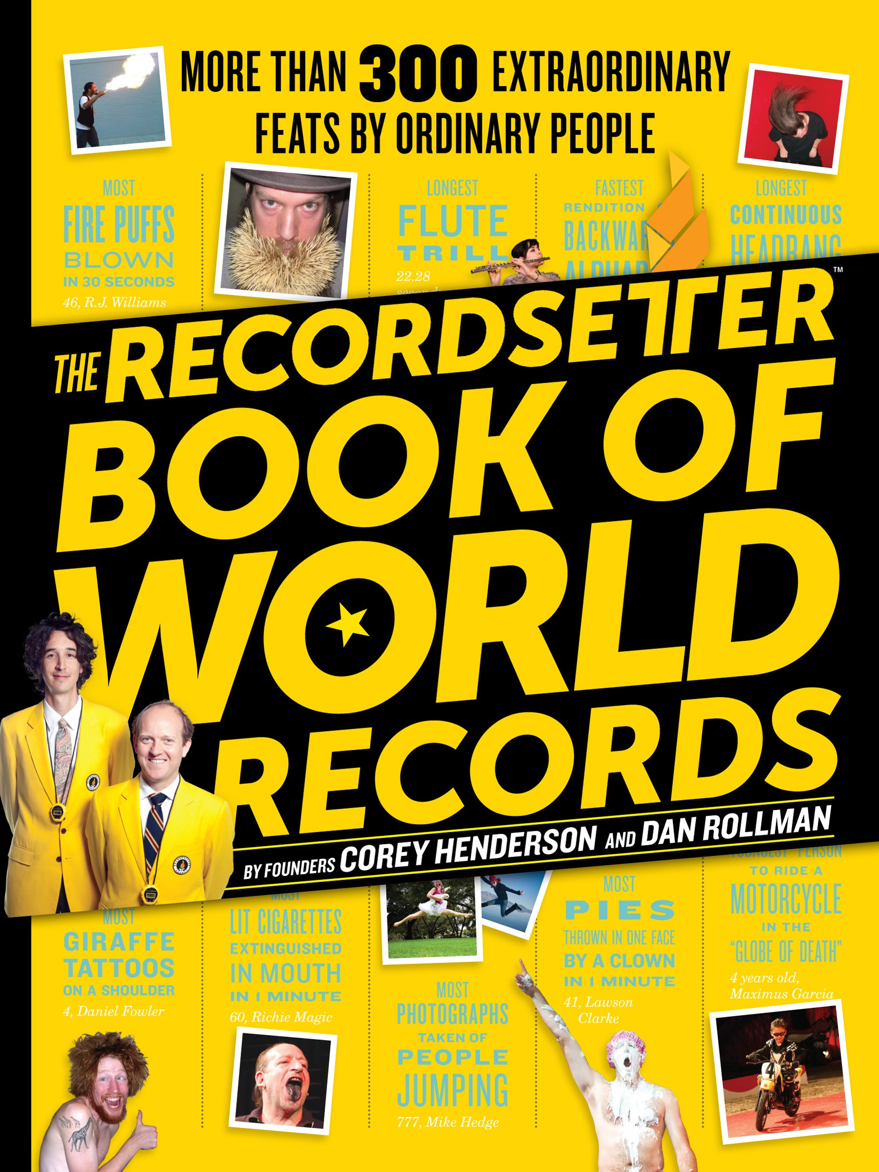 Image result for the recordsetter book of world records