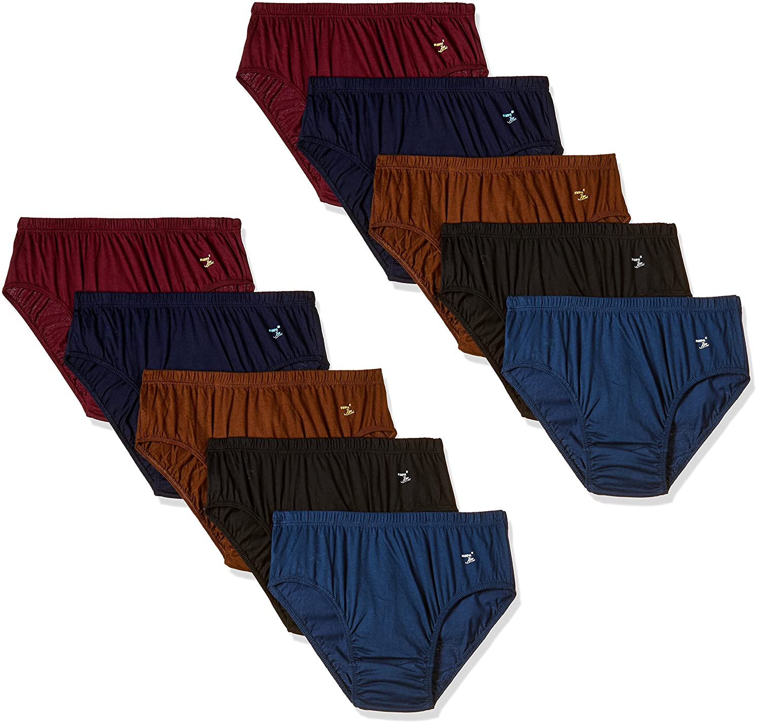 37% Off : Rupa Jon Women's Cotton Panty (Pack of 10) At Rs.312/- Only. [MRP – Rs.499/-]