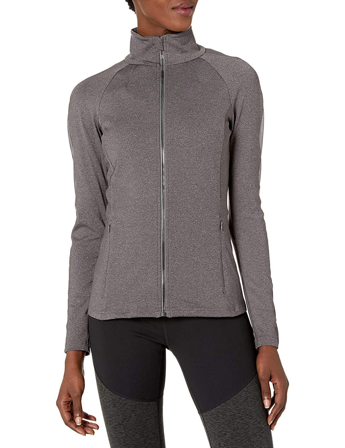 Alo Yoga -Chaqueta de chándal Mujer Stormy Heather: Amazon ...
